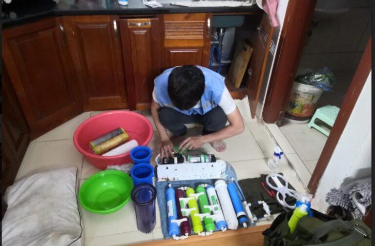 sửa chữa máy lọc nước Kangaroo